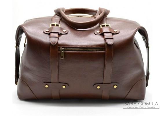Дорожня сумка з натуральної шкіри TARWA, TB-5764-4lx