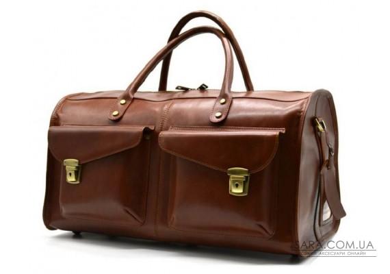 Дорожня шкіряна сумка TB-5664-4lx TARWA
