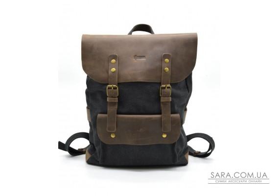 Рюкзак унісекс парусина + шкіра RG-9001-4lx бренду TARWA