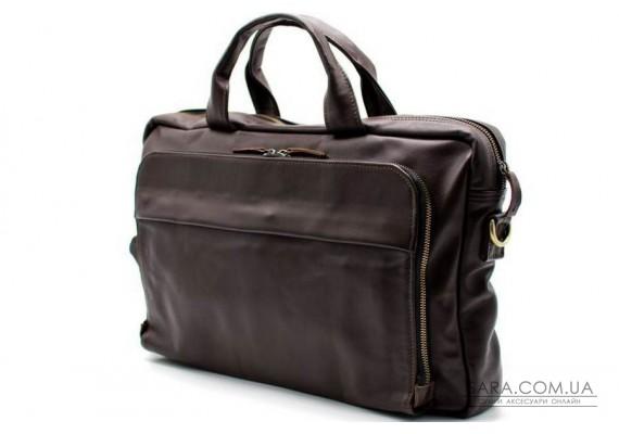 Сумка-портфель для ноутбука TARWA, в коричневому кольорі GC-7334-2md