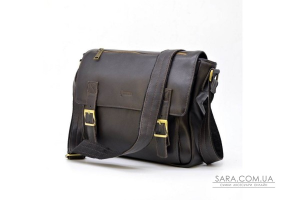Мужская кожаная сумка через плечо из телячьей кожи TARWA, GC-6046-2md