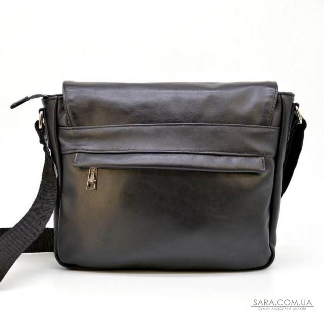 Чоловіча шкіряна сумка через плече з телячої шкіри TARWA, GA-6046-2md
