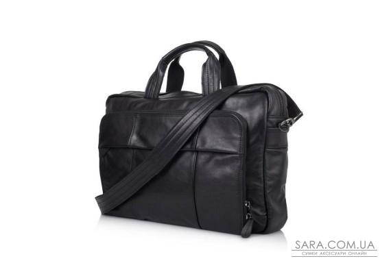Сумка-портфель для ноутбука в чорному кольорі GA-7334-3md TARWA