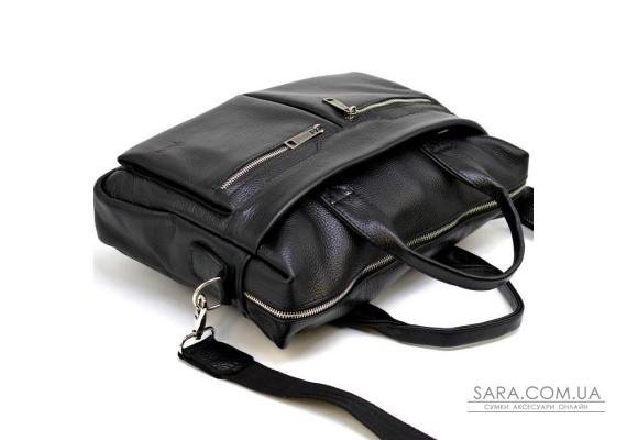Сумка для ноутбука черная мужская мягкая TARWA FA-7122-4lx