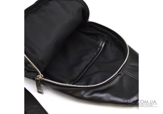 Слінг міні-рюкзак на моношлейке TARWA з натуральної телячої шкіри GA-6101-3md