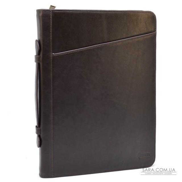 Папка шкіряна з ручкою, для документів A4 GC-1404-4lx від TARWA