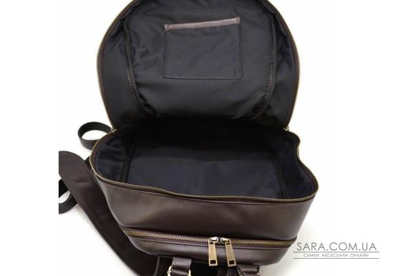 Чоловічий рюкзак з натуральної шкіри коричневий GC-7340-3md TARWA