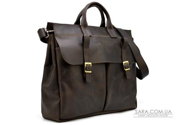 Збільшена шкіряна сумка для ноутбука 17 дюймів RC-7107-extra TARWA