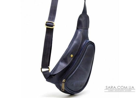 Міні-рюкзак з натуральної шкіри на одне плече TK-3026-3md TARWA