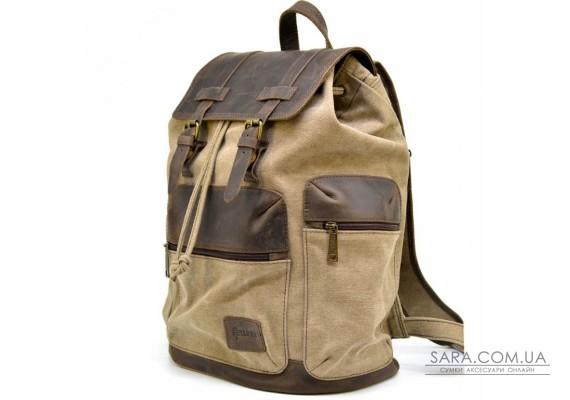 Місткий рюкзак з парусини і шкіри RSc-0010-4lx від бренду TARWA