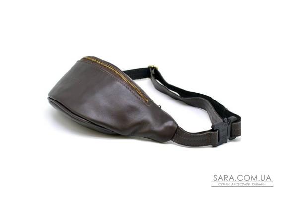 Напоясная сумка из натуральной кожи GC-3035-3md бренд TARWA