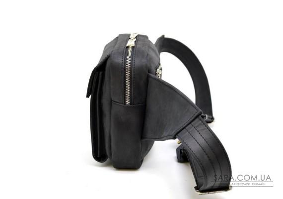 Мужская напоясная сумка из натуральной кожи RA-7777-4lx TARWA