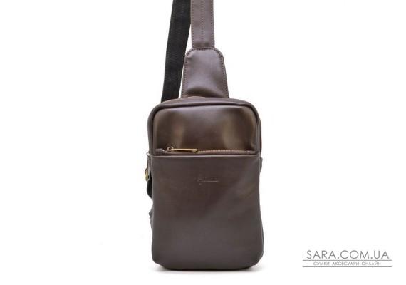 Міні-рюкзак з натуральної шкіри на одне плече GC-0204-3md TARWA