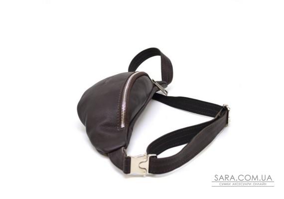 Поясная сумка маленькая из натуральной кожи флотар TARWA FC-3004-4lx