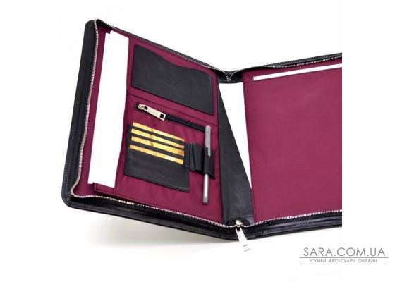 Кожаная папка для деловых документов А4+, органайзер TARWA TA-1294-4lx
