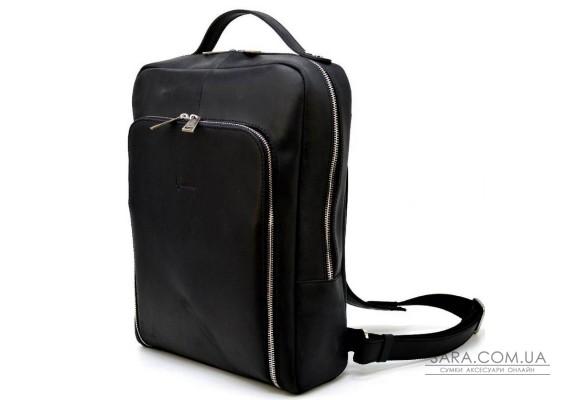 """Статусний шкіряний рюкзак для ноутбука 14 """"RA-1239-4lx TARWA"""