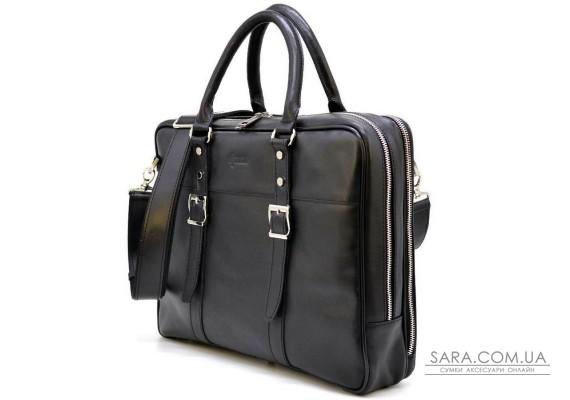 Ділова сумка з ручками GA-4767-4lx TARWA, з натуральної телячої шкіри