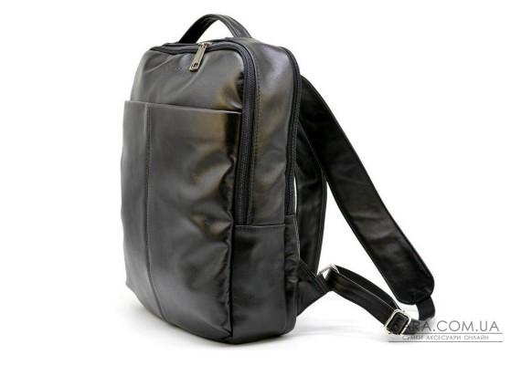 Чоловічий шкіряний рюкзак (наппа) міський TARWA GA-7280-3md