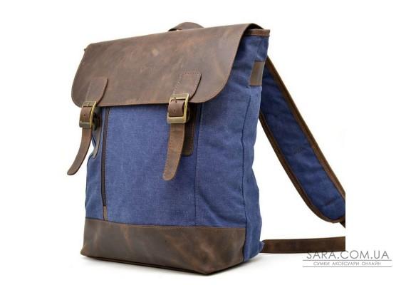 Міський рюкзак, парусина + шкіра RК-3880-3md бренд TARWA