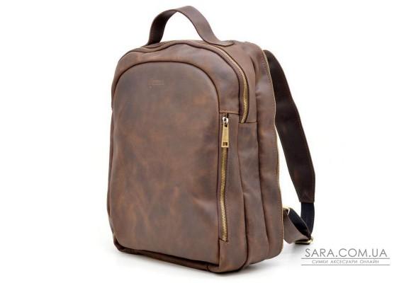 Міський рюкзак RC-3072-3md TARWA, натуральна шкіра Crazy Horse