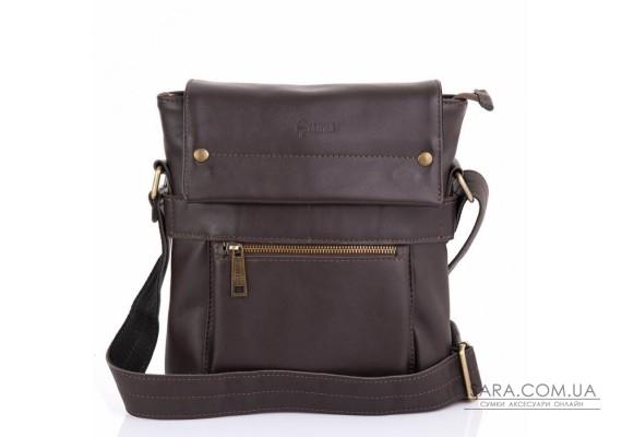 Мужская кожаная сумка через плечо GC-7121-3md TARWA