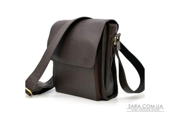 Мужская кожаная сумка через плечо GC-3027-4lx бренда TARWA