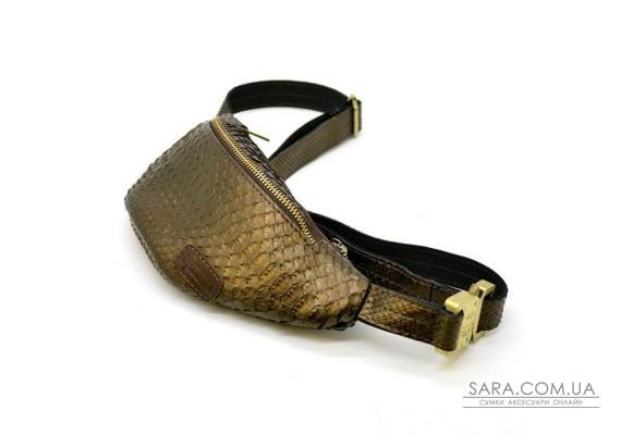 Бананка из натуральной кожи рептилии REP-3034-3md бренда Tarwa