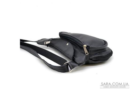 Міні-рюкзак з натуральної шкіри на одне плече FA-3026-3md TARWA
