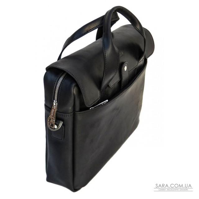 Чоловіча сумка-портфель з натуральної шкіри RA-1812-4lx TARWA