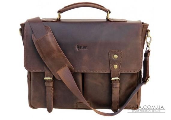 Діловий чоловічий портфель з натуральної шкіри RС-3960-4lx TARWA