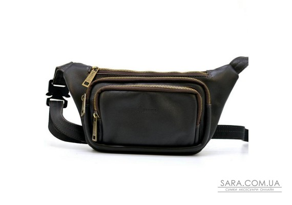 Напоясная сумка из натуральной кожи GC-8179-3md TARWA