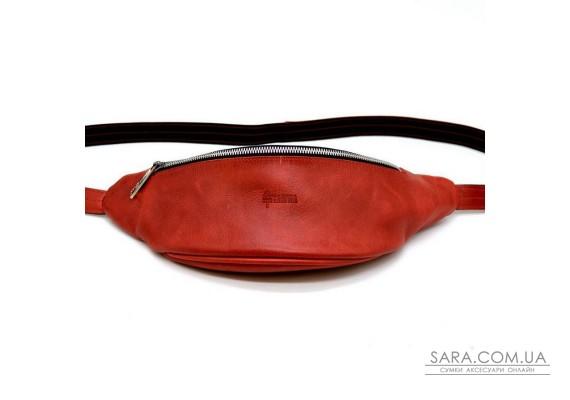 Напоясная женская сумка из натуральной кожи  RR-3035-4lx бренд TARWA