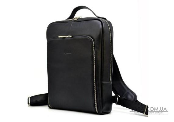 """Кожаный рюкзак для ноутбука 14"""" TARWA TA-1239-4lx премиум"""