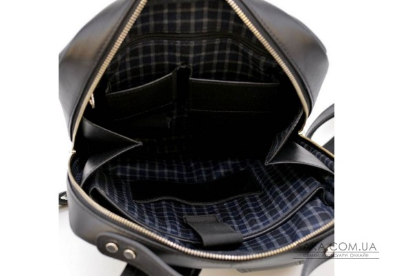 """Шкіряний рюкзак для ноутбука 14 """"TARWA TA-1239-4lx преміум"""
