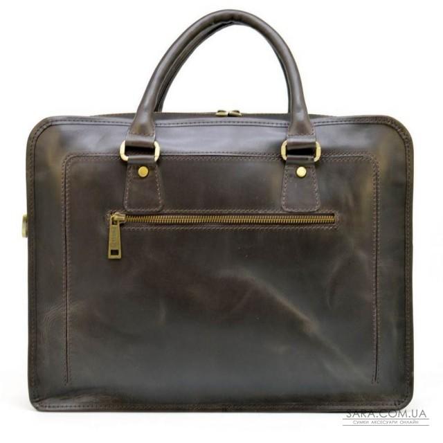 Сумка-портфель для ноутбука до 15 дюймів з натуральної шкіри RC-4666-4lx TARWA