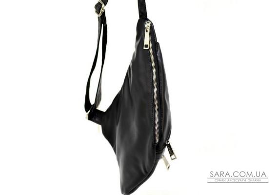 Мужская сумка через плечо GA-6402-4lx черная бренд TARWA