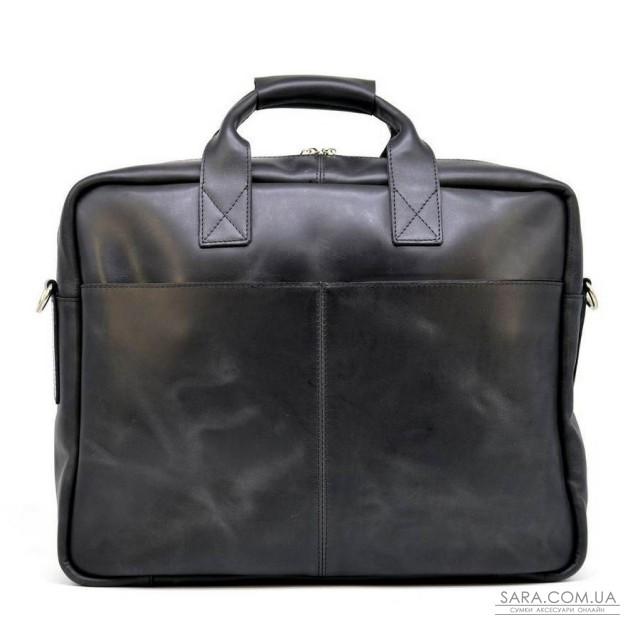 """Чоловіча сумка для ноутбука 17 """"з натуральної шкіри RA-1019-4lx від TARWA"""