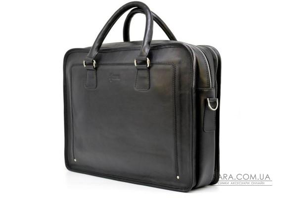 Ділова сумка-портфель з натуральної шкіри TA-4666-4lx TARWA