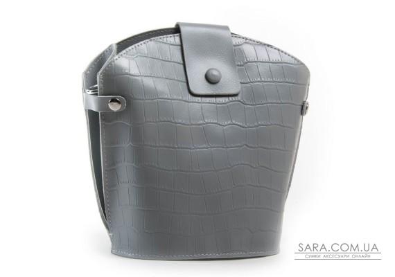 Сумка Жіноча Класична шкіра ALEX RAI 03-01 2237 grey
