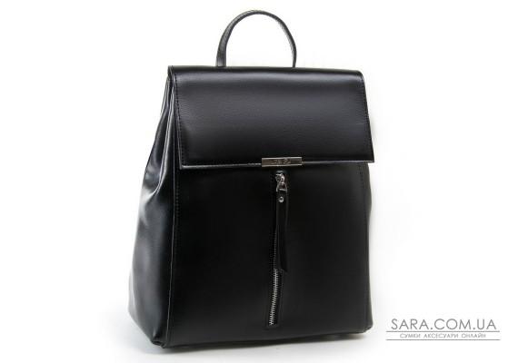 Сумка Женская Рюкзак кожа ALEX RAI 03-01 373 black Podium