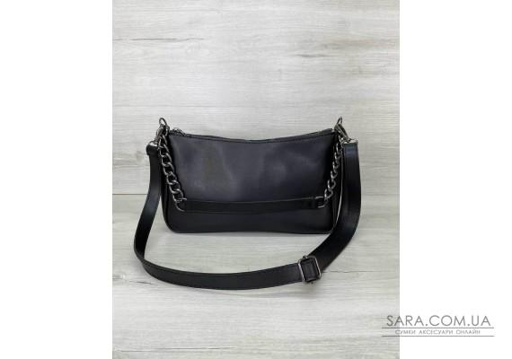 Женская сумка «Луна» черная WeLassie