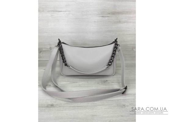 Женская сумка «Луна» серая WeLassie