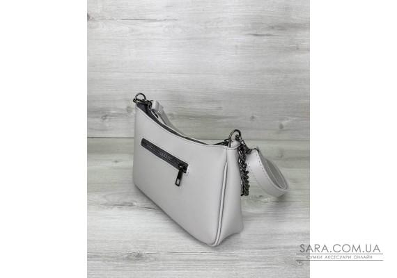 Жіноча сумка «Місяць» сіра WeLassie