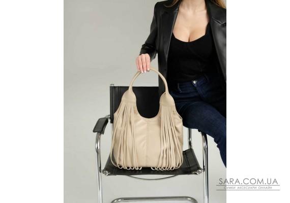 Жіноча сумка «Хелен» бежева WeLassie
