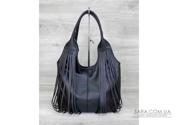 Жіноча сумка «Хелен» чорна WeLassie