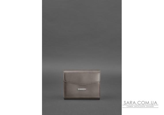 Жіноча шкіряна сумка поясна / кроссбоді Mini темно-бежева - BN-BAG-38-2-beige BlankNote