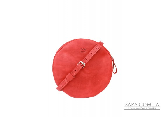 Шкіряна міні сумка Bubble червона вінтажна - TW-Babl-red-crz The Wings