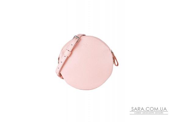 Шкіряна міні сумка Bubble рожева флотар - TW-Babl-pink-flo The Wings