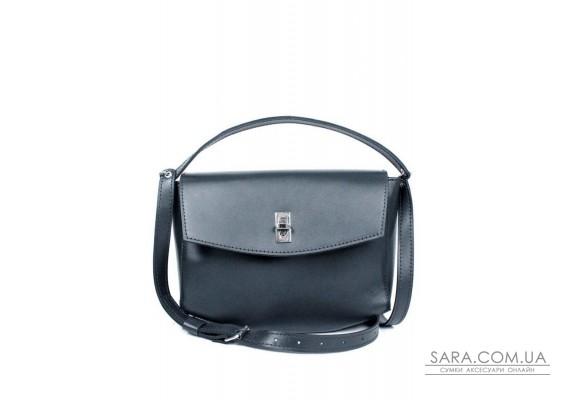 Жіноча шкіряна міні-сумка Eve синя - TW-Iv-blue-ksr BlankNote