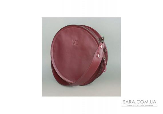 Жіноча шкіряна сумка Amy L бордова - TW-Amy-big-mars-ksr BlankNote